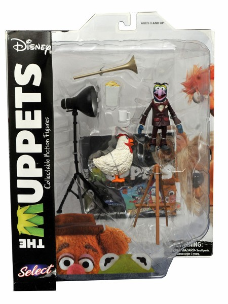 Diamond Select Toys The Muppets Gonzo with Camilla Figures